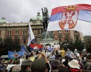 Протести у Београду