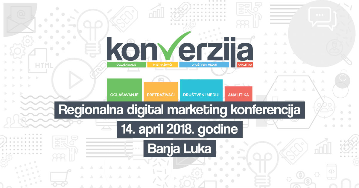 "Internacionalni digital marketing stručnjaci na ""Konverziji"""