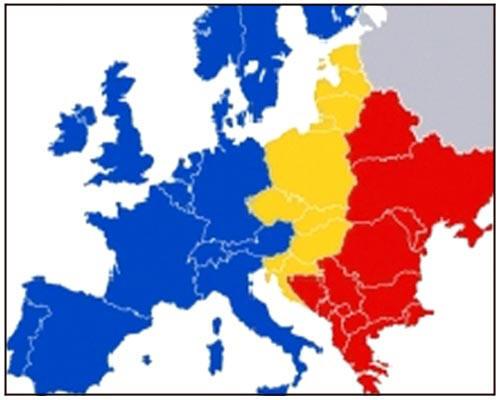 karta evrope 2020 Srbija u